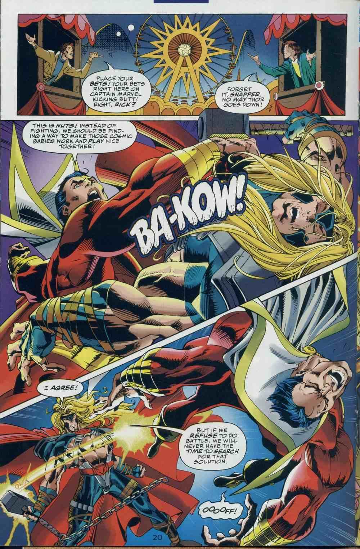Dc Vs Marvel Ava Giden Avlanır